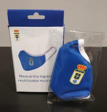 MASCARILLA OFICIAL R. OVIEDO