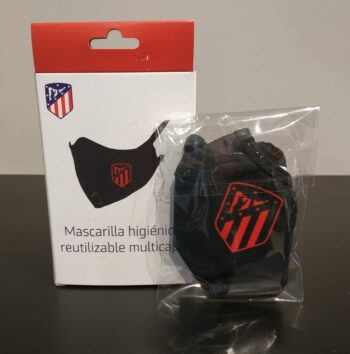 MASCARILLA OFICIAL AT. MADRID